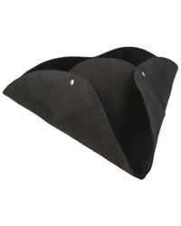 Blace Tricorn Hat for boys