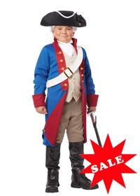 John Adams Child Costume for boys