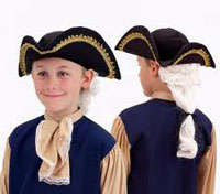 John Adams Colonial Hat for Kids