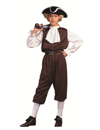 Colonial Boy John Adams Child Costume