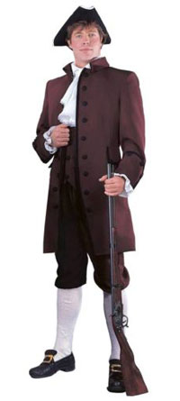 Theatrical Rental Quality John Adams Colonial Costume Jacket Pants