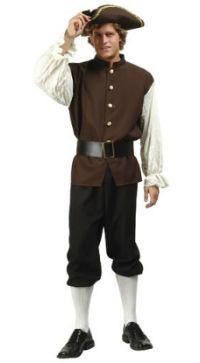 John Adams colonial man costume